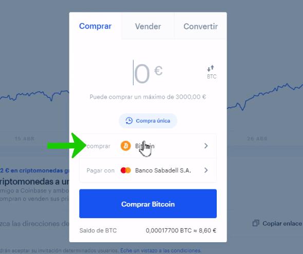 come depositare bitcoin da coinbase a gatehub